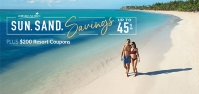 sun. Sand. Savings. Apple Vacations