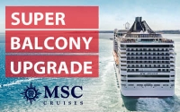 msc super balcony upgrade sale - extended!